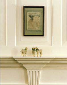 Navajo White - Benjamin Moore (The Enchanted Home: Chapter 1- Paint and wallpaper diaries)