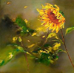 Week one – Artists of the Year 2014 - News - Artists & Illustrators - Original art for sale direct from the artist Growing Sunflowers, Sunflowers And Daisies, Watercolor Pictures, Watercolor Paintings, Sunflower Art, Principles Of Art, Happy Flowers, Annual Plants, Original Art For Sale