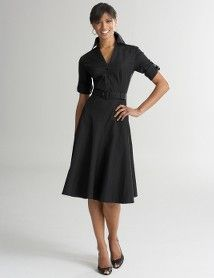 I love this Ann Taylor shirt dress. I pull it out anytime I have no other inspiration on what to wear to work.
