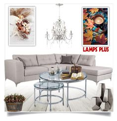 """""""Lampsplus"""" by ramiza-rotic ❤ liked on Polyvore featuring interior, interiors, interior design, home, home decor, interior decorating, Zuo, OKA, Cyan Design and Vienna Full Spectrum"""