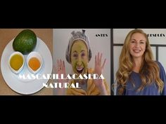 M Mascarilla casera, natural, para la cara, el pelo y labios secos - YouTube