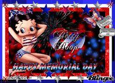 Betty Boop - Happy Memorial Day