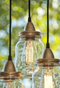 .mason jar light