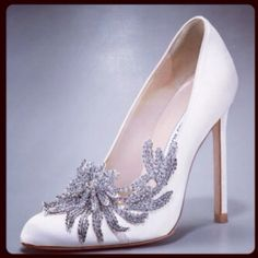 Decorated Wedding Shoes / Scarpe da sposa decorate
