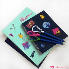 Trust LuLaLax for all of your Lacrosse Back to School needs! We have lacrosse stick pens that are fun to write with and awesome lacrosse stickers that any lax girl will LOVE decorating her notebooks, folders, and binders with! Check them out at LuLaLax.com