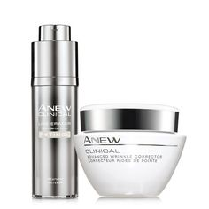 RETINOL SAVES THE DAY!- Advanced skin care by #AVON. Power Couple: Advanced Wrinkle Corrector & Pro Line Eraser Regimen ($63 Value) | AVON @peacemagnet May I be your Avon Representative? Please shop my online store youravon.com/annecoddington I am continually impressed with Avon's high-end skin care. Customer satisfaction is guaranteed ... Avon has a 90-day return policy! (They want you to be happy ... and so do I!) #SkinCare