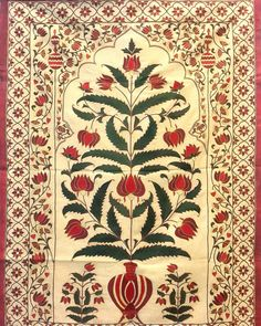 Vintage mughal tapestries /tent hangings with gujrati mochi embroidery Pichwai Paintings, Mughal Paintings, Indian Art Paintings, William Morris Patterns, Mughal Architecture, Tree Of Life Art, Islamic Patterns, Persian Motifs, Indian Folk Art