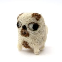 Felted Billy the Miniature Pug by Poopycakes-makes.deviantart.com on @deviantART