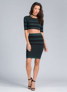 Want a go at this chic striped piece? Well, so do a lotta people. You better start lining up now...