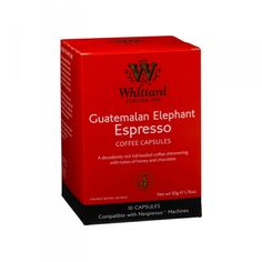 Guatemalan Espresso Capsules from Whittard - miles easier to get then going to a Nespresso store, looking forward to trying them!!
