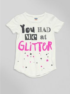 I don't know why I'm so obsessed with glitter - oh yeah, the faeries. I forgot. Robyn mentioned that.