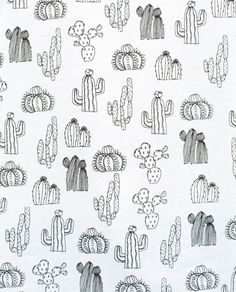 cactus tshirt - B&W cacti pattern Doodle Drawings, Doodle Art, Cactus Drawing, Cute Doodles, Art Graphique, Bullet Journal Inspiration, Stripe Print, Coloring Pages, How To Draw Hands