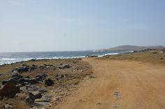 Road in Aruba.