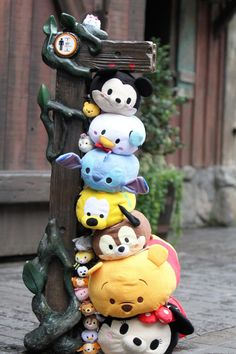 Zoom Around the Park with Tsum Tsum - Height Chart