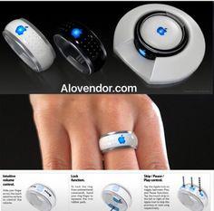iRing: Tương lai chúng ta sẽ sử dụng chiếc nhẫn này để giao tiếp với bất kỳ mặt phẳng nào kể cả trong không gian làm màn hình. Một thiết bị đeo tai để tương tác âm thanh, khi đó mọi người sẽ không lo bị giật điện thoại nữa :)  Chiếc nhẫn này sẽ đc tích hợp tất cả trong 1 bao gồm điều khiển từ xa mọi thứ, đèn laser, phát tín hiệu SOS... Thấy mình tưởng tượng hay k :))