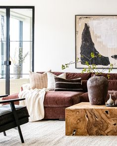 Living Room Colors, Living Room Designs, Living Room Decor, High Ceiling Living Room, Decorating Small Spaces, Cheap Home Decor, Decoration, Furniture Design, Interior Design