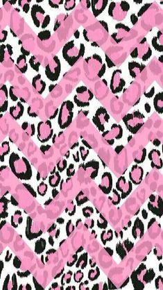 Chevron pink and black cheetah. Too cute Chevron pink and .- Chevron pink and black cheetah. Too cute Chevron pink and black cheetah. Too cute Chevron pink and black cheetah. Pink Chevron Wallpaper, Cheetah Print Wallpaper, Love Wallpaper, Fabric Wallpaper, Pattern Wallpaper, Sparkle Wallpaper, Beautiful Wallpaper, Wallpaper Kawaii, Victoria Secret Wallpaper