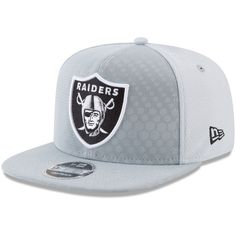 super cute 65106 c38f8 Oakland Raiders New Era 2017 Color Rush Kickoff Reverse Team 9FIFTY  Snapback Adjustable Hat – Silver