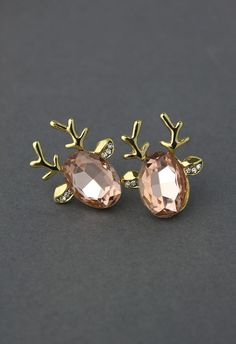 Holiday reindeer gem earnings Bling...posted for someone in particular, you know who you are. ;)