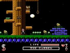 Image result for the addams family NES