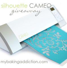 Silhouette Cameo Giveaway on MyBakingAddiction.com!