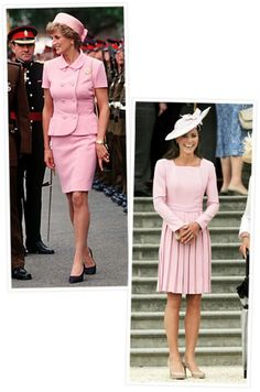 952453925022e Princess Diana & Duchess Kate in pink! Duchess Kate, Duke And Duchess,  Duchess