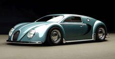"""Die Designer des """"RC82 Workchop"""" aus Polen haben diese verrückte Kreuzung aus VW Käfer und Bughatti Veyron entworfen"""