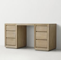 RH TEEN& Callum Storage Desk:Defined by its clean, contemporary lines bordered by a beveled and mitered frame, our Callum collection is artisan crafted and hand finished for an authentically time-worn appearance. Rh Teen, Kid Desk, Desk Storage, Contemporary, Artisan, Home Decor, San Clemente, Room, Desks