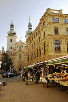 "Prague - Czech Republic... Absolutely love all the ""open air markets"", so much to see and so much to buy!!!"