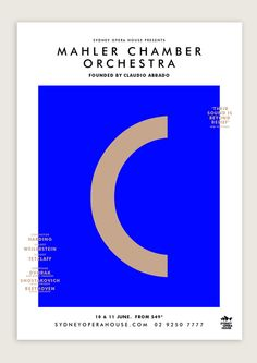 Mahler Chamber Orchestra on Behance TEXT PURITY