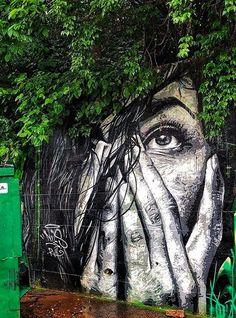 New street wall art graffiti inspiration ideas Street Art Banksy, Murals Street Art, 3d Street Art, Street Art Artiste, Kobra Street Art, Urban Street Art, Amazing Street Art, Mural Art, Street Artists