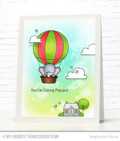 Up in the Air Stamp Set and Die-namics - Stephanie Klauck  #mftstamps