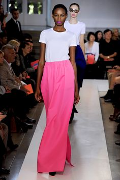 Raf Simons for Jil Sander.  Mere words cannot fully express the depth of my love for this.
