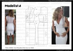 ModelistA: A3 NUMo 0227 DRESS WHITE