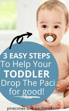 Follow these three easy steps to help your baby or toddler drop the pacifier! I'm sharing the 3 steps that we took to drop the pacifier in 3 days with little to no tears. If you need help getting your toddler to drop the pacifier, check out this post! Or save for later if your baby or toddler is a paci addict. #toddler #babytips #pacifier #dropthepacifier #toddlertips #toddlerparents #toddlerhood #parentingtips Working Mom Schedule, Baby Schedule, Toddler Sleep, Toddler Age, Parenting Toddlers, Parenting Advice, Toddler Milestones, Teething Babies, Potty Training Tips