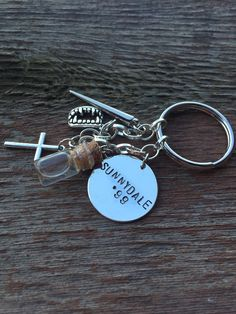 Buffy The Vampire Slayer Inspired Keychain