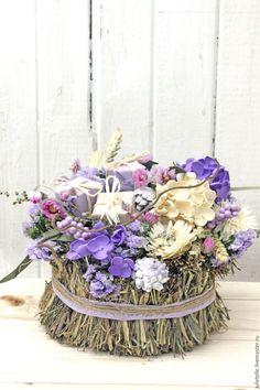 Купить Интерьерная композиция - сиреневый, стиль прованс, детали интерьера, декор дома, весна