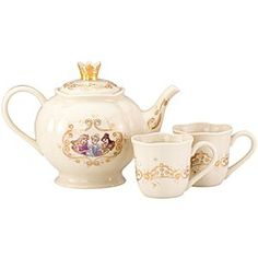 Disney Princess Tea Set by Lenox! Oh how I love! :)