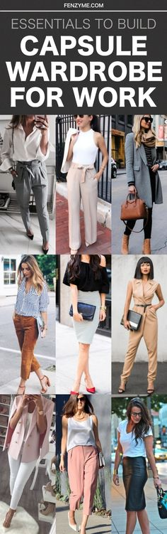 #CapsuleWardrobe #WorkOutfits #OfficeAttires #BusinessCasuals || Essentials to Build Capsule Wardrobe for Work || Capsule Wardrobe for Work || Work Outfits Ideas || Office Outfits Ideas || Business Casual for Women