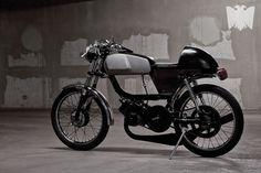 1974 Peugeot 50TSA - Pipeburn - Purveyors of Classic Motorcycles, Cafe Racers & Custom motorbikes