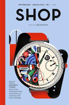 BRATISLAV MILENKOVIC – SHOP MAGAZINE | Synergy Art - Illustration Agency