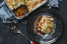 Beef Blade Roast, Parsnip Puree, Pulled Beef, Smoked Cheese, Italian Spices, Braised Beef, Pot Pies, Grace, Casserole Dishes