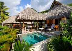 InterContinental Moorea Resort & Spa, Garden Pool Suite Bungalow