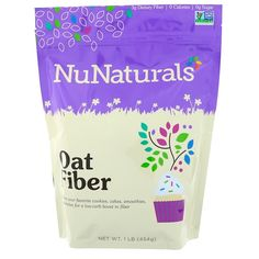 NuGrains Oat Fiber is the perfect ingredient for low-carb baking. NuGrains Oat Fiber contains zero calories per serving because it is almost entirely insoluble fiber. Getting enough fiber into your daily diet is difficult, but not anymore! Pure Argan Oil, Organic Argan Oil, Low Calorie Vegan, Vegan Keto, Smoothies, Vitamins For Kids, Sports Food, Natural Herbs, Vitamins And Minerals