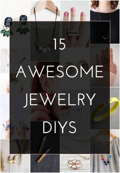 15 Awesome Jewelry DIYS (that would make great Christmas gifts!)