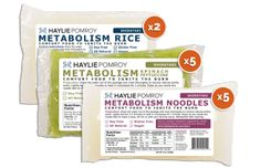 Introducing noodles and rice for all Phases, all Burns, even Cleanse! Our delicious Metabolism Noodles and Metabolism Rice are made from 100% vegetable fiber, so enjoy them as unlimited foods!