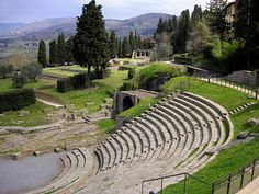 """Roman ruins in Fiesole, Tuscany — """"The Perfect Day Trip from Florence: A Day in Fiesole"""" via @Liz Walker of Italy of Italy"""