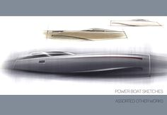Yacht work by Adam Gompertz, via Behance