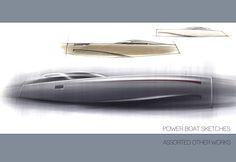 Yacht work by Adam Gompertz, via Behance