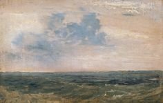 Joseph Mallord William Turner Study of Sea and Sky, Isle of Wight 1827
